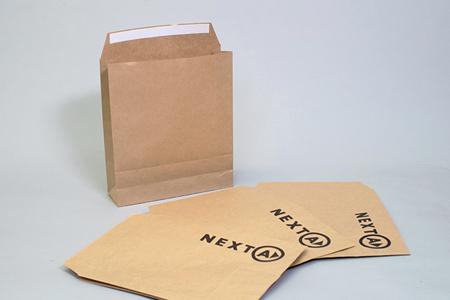 ベロ付き宅配袋